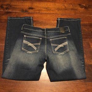 Helix Mens Jeans Loos Straight Leg 30x30 Dark
